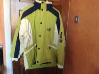 RECCO Nowhere Breathable Ski Jacket size M (medium)