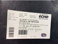 Catfish & The Bottlemen tickets x 4 - liverpool - 30/6/17