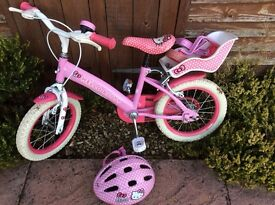 "Girls Hello Kitty 14"" Bike"