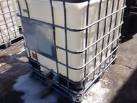 Ibc containers for sale £40 each