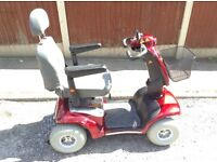SHOPRIDER CADIZ 8 MPH MOBILITY SCOOTER WITH SUSPENSION 2014 MODEL **SPARES / REPAIRS**