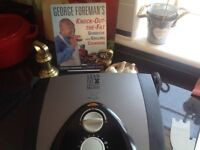 George Foreman's grill & recipe book