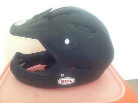Bell Full Face Cycle Helmet - Matte Black