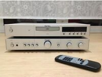 Rotel CD player and stereo integrated amplifier