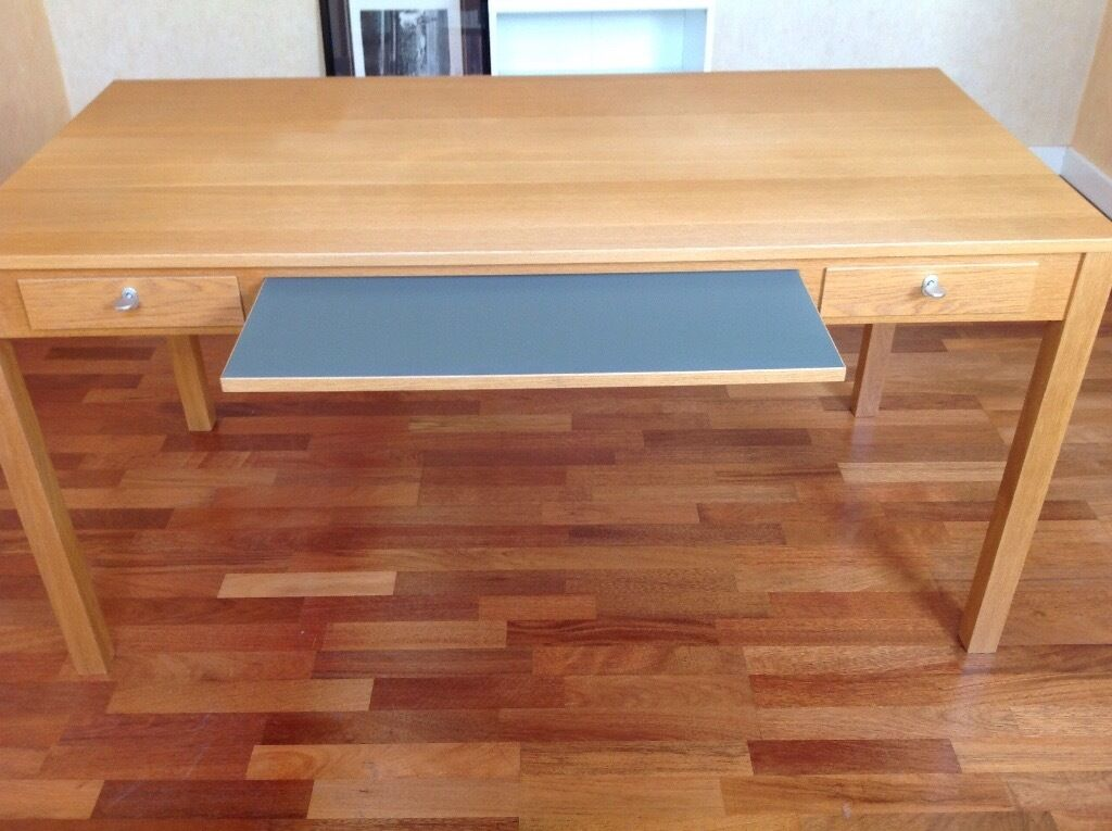 Ikea gustav computer desk in culcheth cheshire gumtree