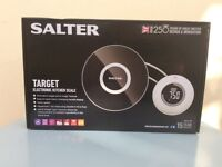 Salter target electronic kitchen scale new in box