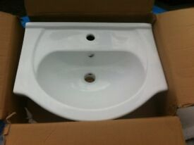 Brand new boxed bathroom sink