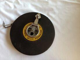 Vintage surveyors tape measure