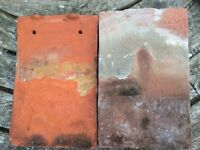 Handmade clay roof tiles (approx 2000)