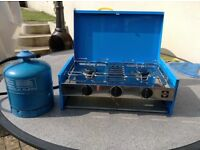 Camping stove grillogas