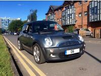 Mini CooperS 2006 1.6 3 Drs Supercharge gunmetal grey with a gloss black panorama roof Hatchback.