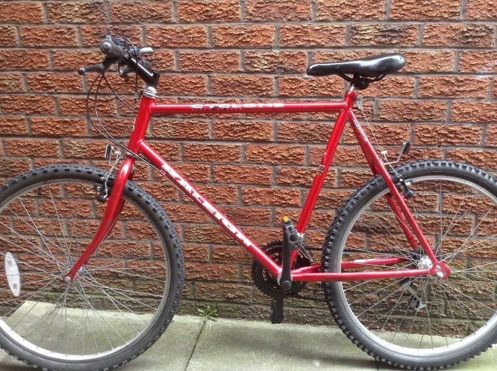 Raleigh mountain bike adults 23 inch frame very good condition | in ...