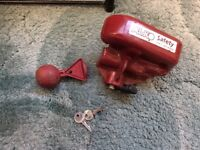 Alko hitch lock TYP 1 ETI811202 with 2 keys