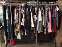 Ladies bundle of clothes 50 items - resale on ebay? carboot? lots of money to be made!