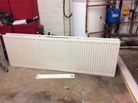 Large white radiator