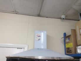 100cm stainless steel cooker hood. £69 RRP £169. New/graded 12 month Gtee