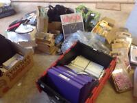 Car boot job lot ,mostly new items