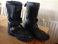 Ladies size 6 RST black boots