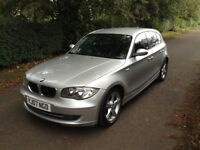 BMW 1 series 118d se , 2007 , sports spec, cruise control, parking aid,