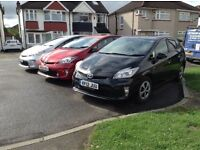Pco registered toyota Prius for rent at only £140 a week