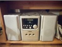 music stereo and cd player