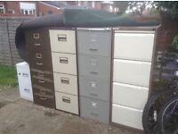 4 draw filing cabinates