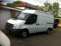 Ford transit 2008 2.2 only 1 previous owner