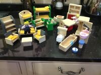 DOLLS HOUSE FURNITURE NEW ALL ROOMS