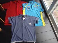 3 tshirts size XL