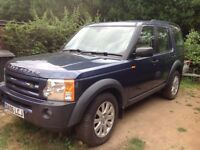 Discovery 3 TDV6 SE. Good condition. 1yr MOT plus extras