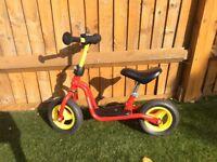 Toddler kids balance bike excellent condition