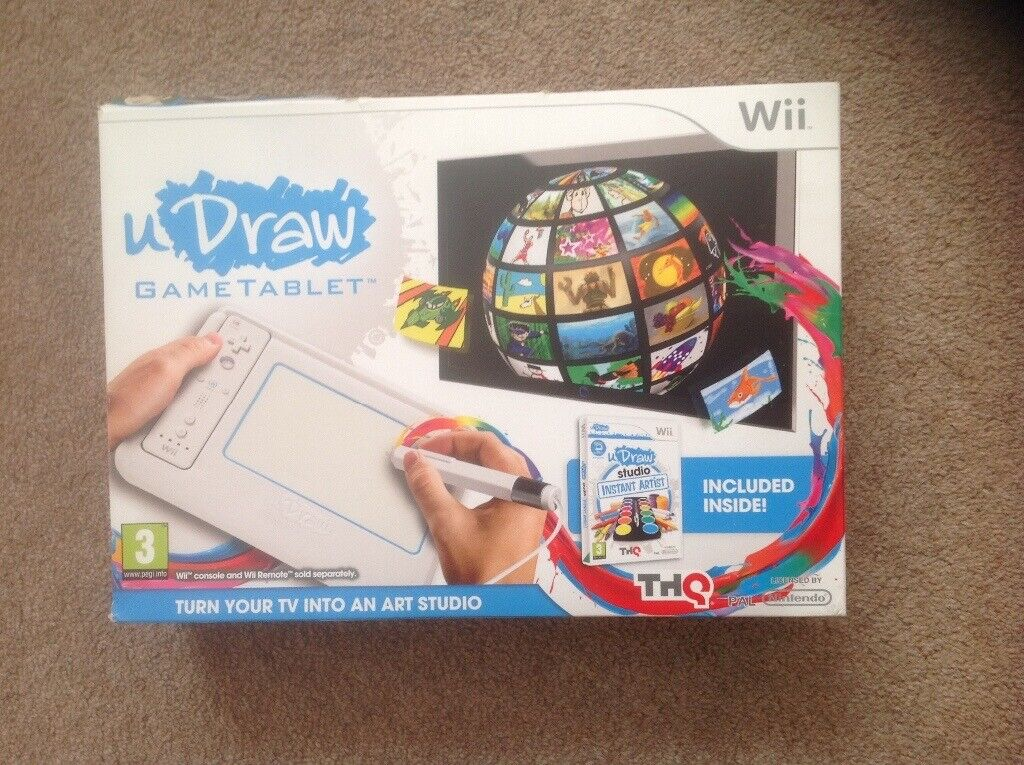 drawing games for wii u Wii U Draw Game Tablet In Penarth Vale Of Glamorgan Gumtree