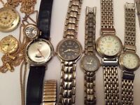 Various Men's & Ladies Watches