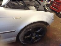2002 BMW E46 Touring Wings. Titan Silver