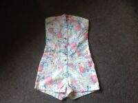 Size 8 playsuits