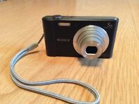 Used twice Sony Cybershot DSC-W800 Digital Compact Camera