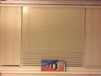 Sunwood Ivory Venetian Blinds 1635 x 1665 with all fixings