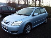 2004 Toyota Corolla 2.0 D-4D T3 One previous owner!! 7 main dealer service stamps!! Diesel