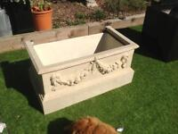 Water feature troughs