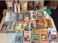 Selection of VHS videos (25)
