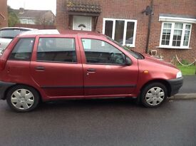 £250 Fiat Punto 1.2 Selecta Automatic, 1996, 77000 miles, MOT July 2017 (pictures on request)