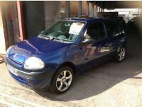CLIO 1.2CC VERY ECONOMICAL 3 DOOR HATCHBACK £495 MAY PX