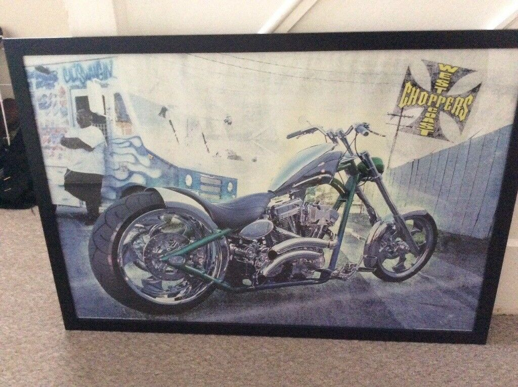 West Coast Choppers Framed Picture