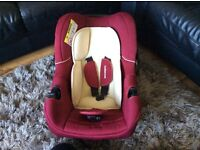 From birth red car seat