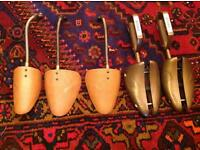 2 pairs of vintage Dasco shoes trees