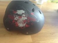 No fear helmet never been used but few marks from storage. Size 55 - 57 cm.