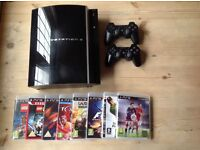 PlayStation 3 & games & controllers