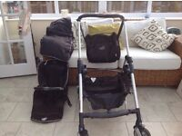 Maxi-Cosi by Bebe Confort Streety Travel System with Stroller, Group 0+ Infant Carrier Car Seat