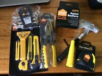 BRAND NEW JOB LOT OF HAND TOOLS INCLUDING PLIERS , HAMMER ETC