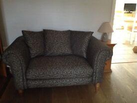 SCHREIBER 2 Seater Sofa 140cm x. 90cm x 70 cm